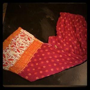 Boho Rayon pants by xhilaration  XL